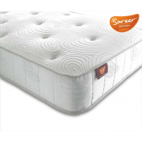 Sareer Matrah Latex 3ft Single Open Coil Mattress