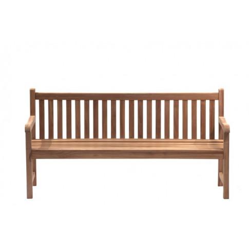 HI-Teak Classic Wellington 4 Seat Teak Garden Bench