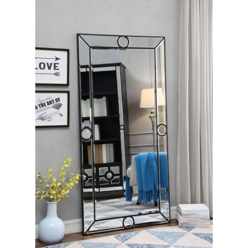 Henley Black 6x3 Mirror