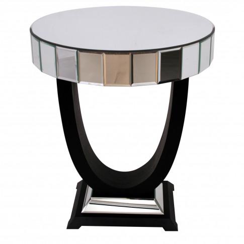 Rv Astley Objet Mirrored Side Table