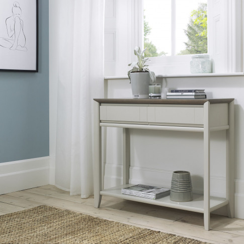 Bentley Designs Bergen Grey Washed Oak & Soft Grey C...