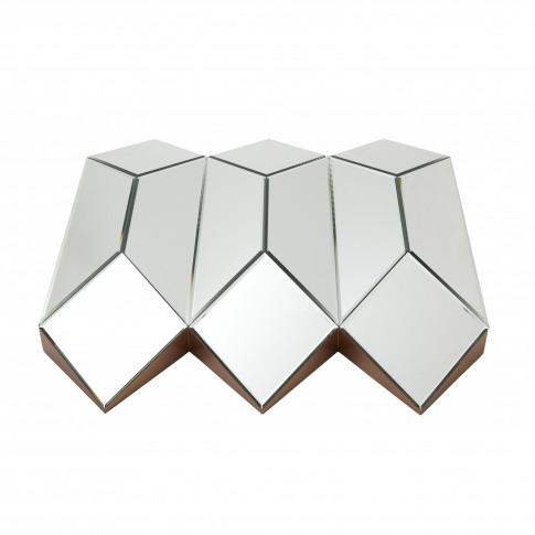 Rv Astley Origami Plain Glass Mirror