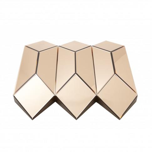 Rv Astley Origami Copper Glass Mirror