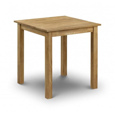 Julian Bowen Coxmoor Oak Square Dining Table