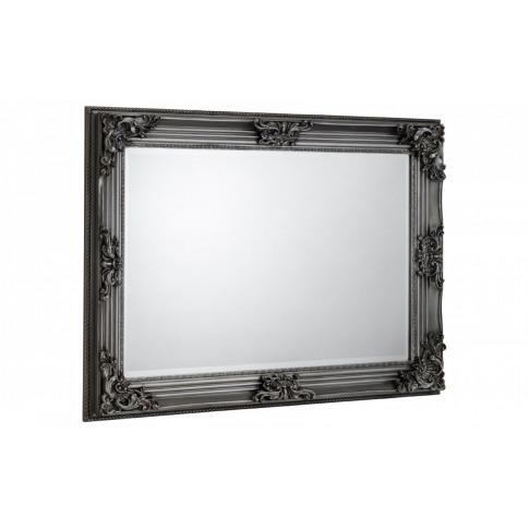 Julian Bowen Rococo Pewter Wall Mirror