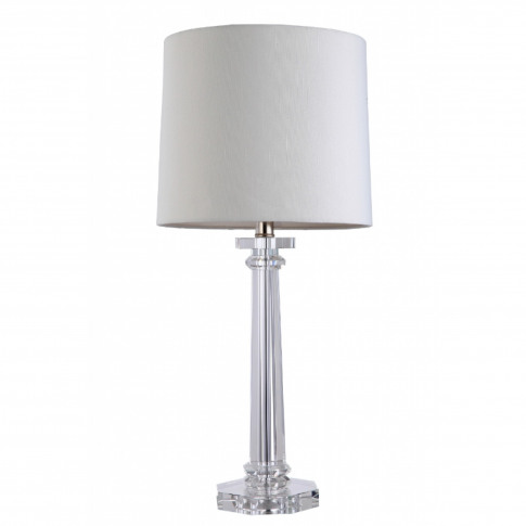 Rv Astley Colinas Solid Crystal Table Lamp