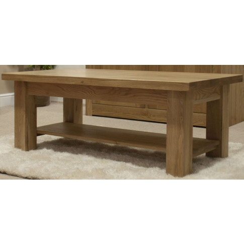 Vermont Light Oak 4 X 2 Coffee Table