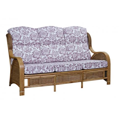 Cane Bari 3 Seater Sofa