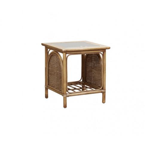 Cane Bari Side Table