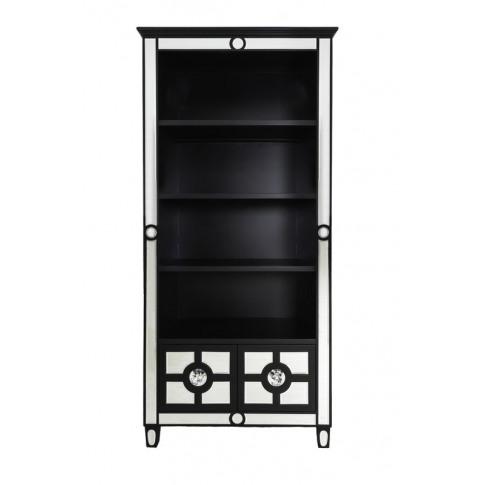 Henley Black Mirrored Bookcase