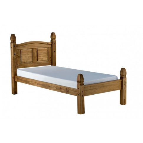 Birlea Corona Solid Pine 3ft Single Low End Bed