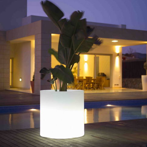 Skyline Cylindro Planter Small Light
