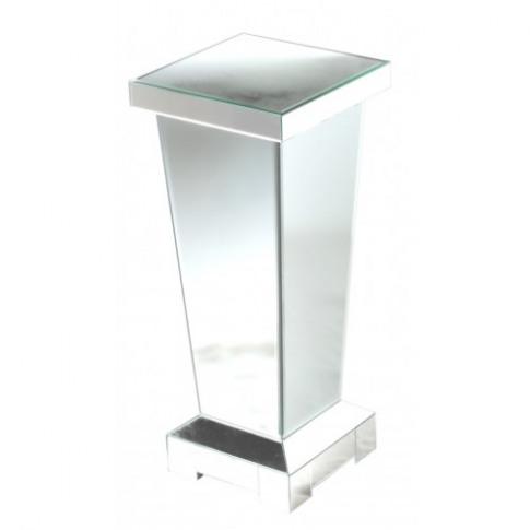 Massimo Mirror Pedestal Lamp Table