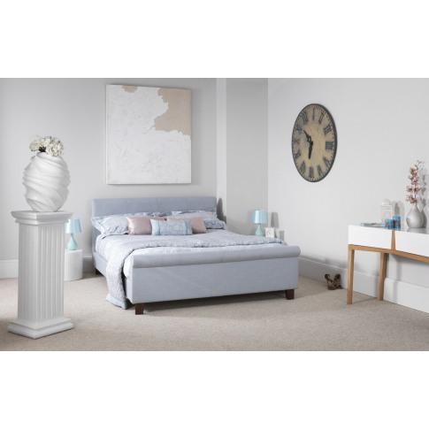 Serene Hazel 6ft Super Kingsize Ice Fabric Bed
