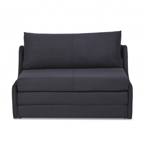 Dosie Luxury Black Fabric Sofa Bed