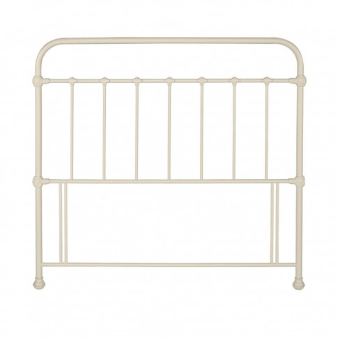 Bentley Designs Mary 4ft6 Double Ivory Headboard