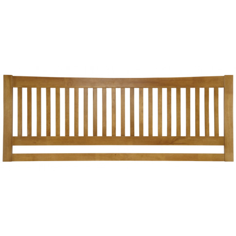 Serene Mya 4ft Small Double Honey Oak Wooden Headboard