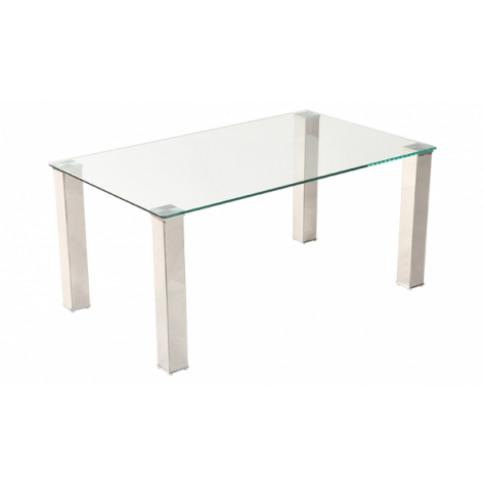 Mezzi Clear Glass Coffee Table
