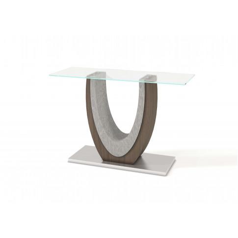 Fairmont Oscar Glass Console Table