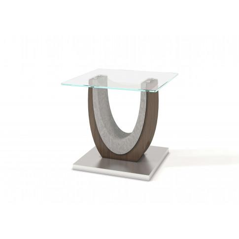 Fairmont Oscar Glass Side Table