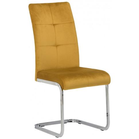 Florence Mustard Velvet Dining Chair