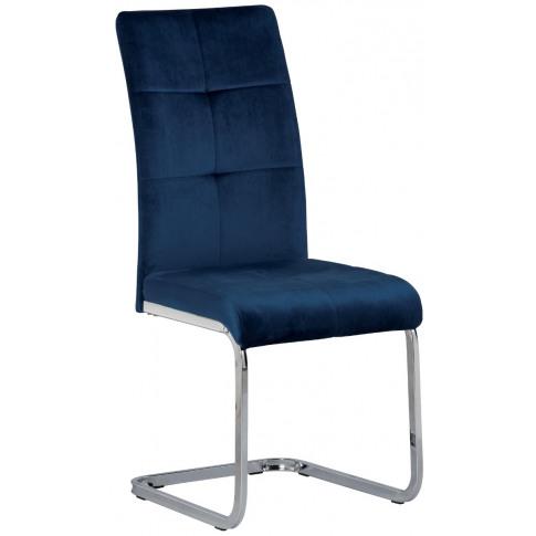 Florence Blue Velvet Dining Chair