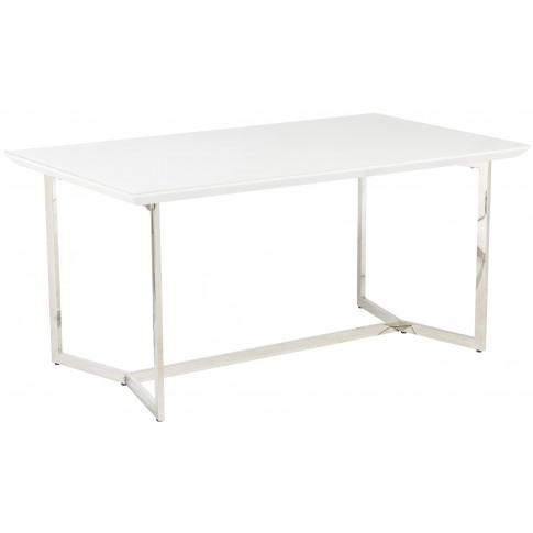 Tivoli 160cm White Marble Rectangular Dining Table