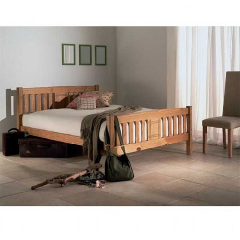 Limelight Sedna 4ft Small Double Wooden Bed