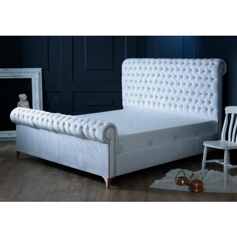 Oliver & Sons Alexander 5ft Kingsize Fabric Bed