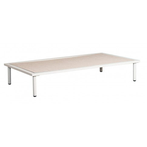 Alexander Rose Beach Lounge Shell Sand Top Coffee Table