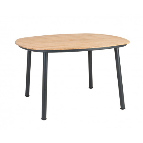 Alexander Rose Cordial 120cm Grey Dining Table With ...