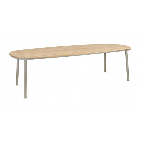 Alexander Rose Cordial 260cm Beige Dining Table With...