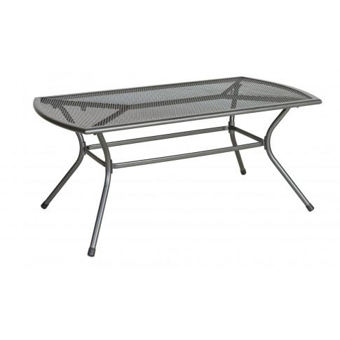 Alexander Rose Portofino Grey Metal Coffee Table