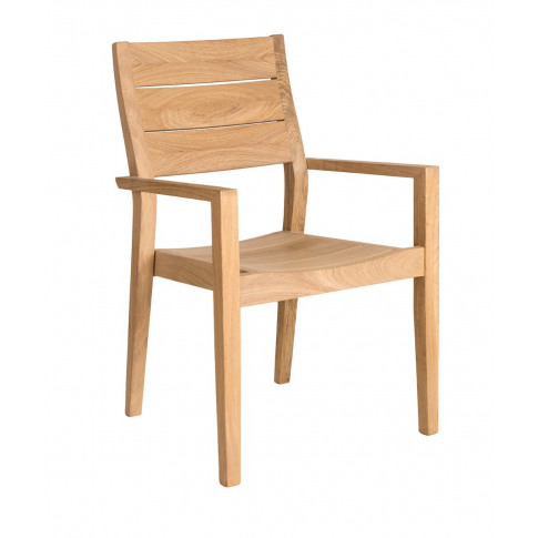 Alexander Rose Roble Highback Stacking Armchair