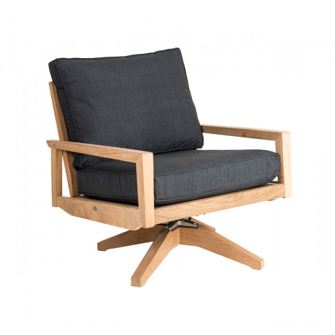 Alexander Rose Roble Swivel Lounge Chair With Cushion