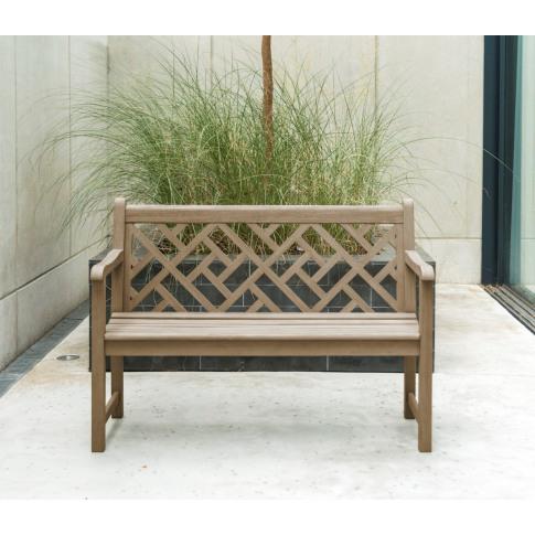 Alexander Rose Sherwood Chorus 4ft Garden Bench
