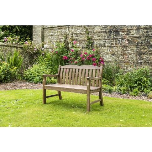 Alexander Rose Sherwood Cuckfield 4ft Garden Bench