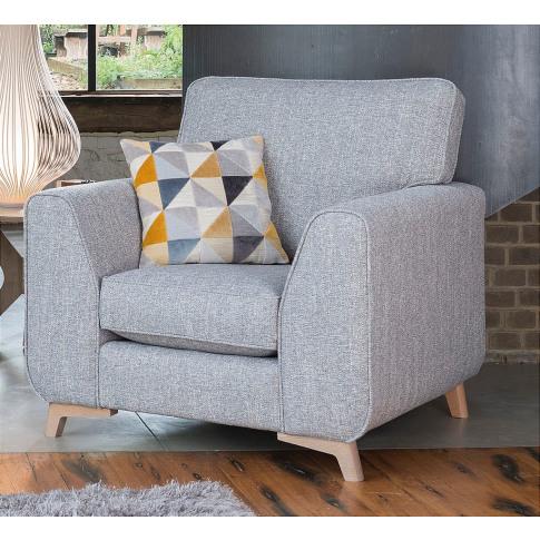 Alstons Stockholm Fabric Armchair