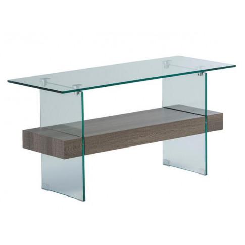Alto Grey Oak Glass Tv Unit