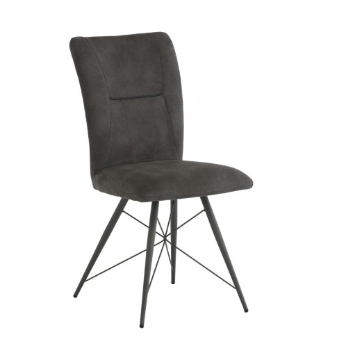 Amalfi Grey Fabric Dining Chair