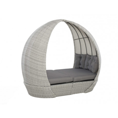 Maze Ascot Grey Rattan Daybed