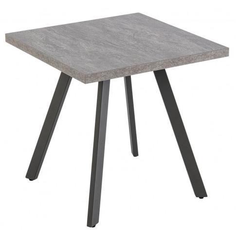 Athens Grey Wooden Lamp Table