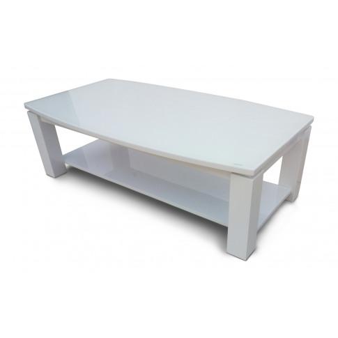 Fairmont Azure White High Gloss Coffee Table