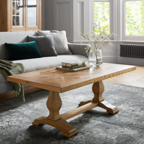 Bentley Designs Belgrave Rustic Oak Coffee Table