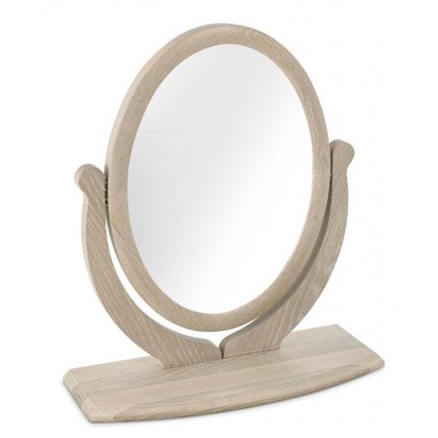 Bentley Designs Bordeaux Chalk Oak Vanity Mirror