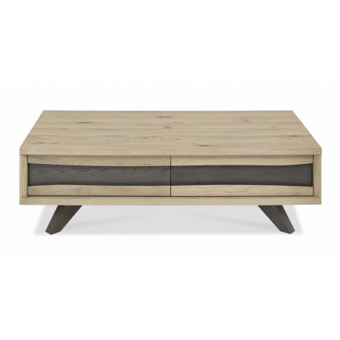 Bentley Designs Cadell Aged Oak Coffee Table With Dr...