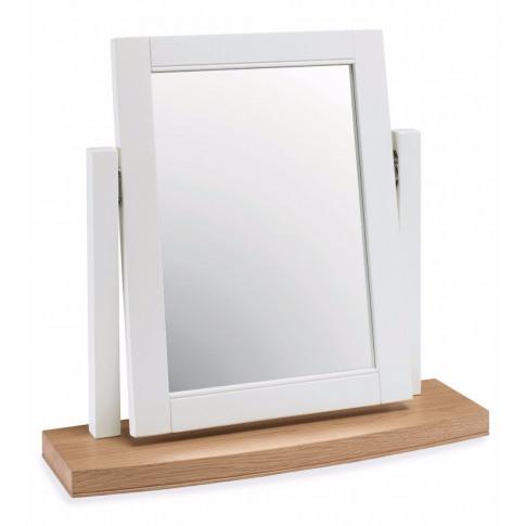 Bentley Designs Hampstead Two Tone Vanity Mirror
