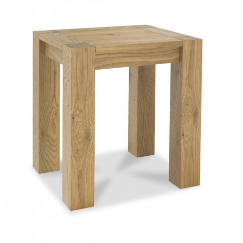 Bentley Designs Turin Light Oak Lamp Table