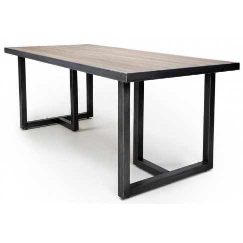 Bergen Medium Industrial Rectangular Dining Table