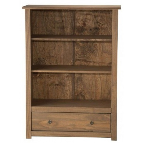 Birlea Santiago 1 Drawer Pine Bookcase